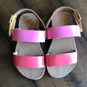 Cat & Jack Toddler Girl Sandals Size 6